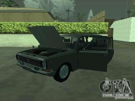 GAZ 24-12 para GTA San Andreas traseira esquerda vista