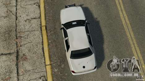 Ford Crown Victoria Police Unit [ELS] para GTA 4 vista direita