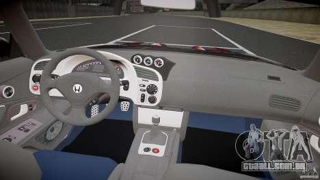Honda S2000 Tuning 2002 2 pele para recozimento para GTA 4 vista direita