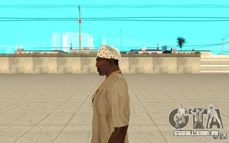 Bandana branco para GTA San Andreas segunda tela