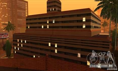 O novo hospital em HP para GTA San Andreas terceira tela