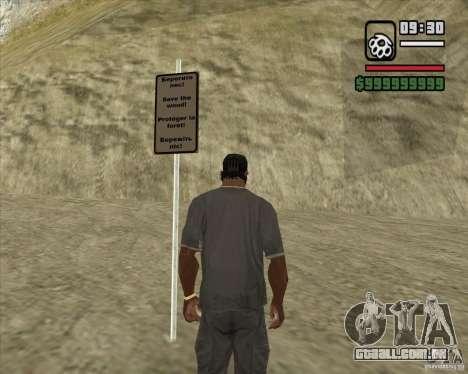 Caçador de casa v. 3.0 Final para GTA San Andreas terceira tela