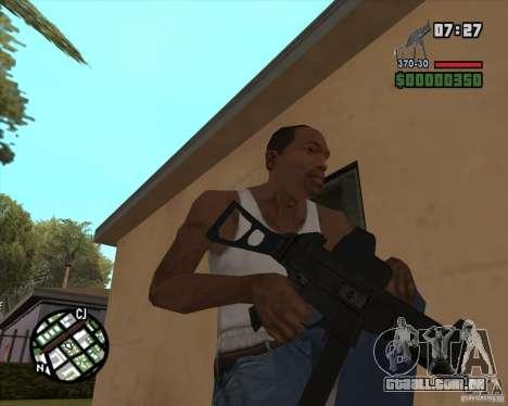 Ump 45 v 2.0 para GTA San Andreas terceira tela