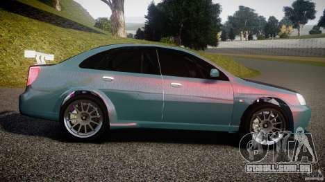 Chevrolet Lacetti WTCC Street Tun [Beta] para GTA 4 esquerda vista