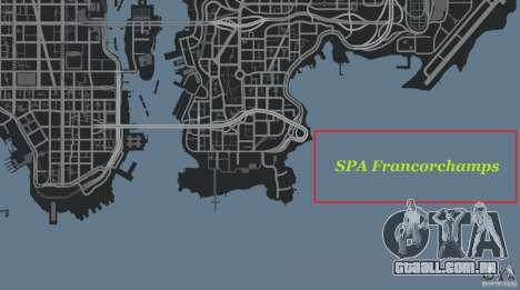 SPA Francorchamps [Beta] para GTA 4 décima primeira imagem de tela