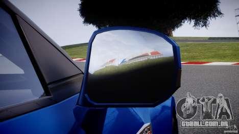 Nissan GT-R R35 2010 v1.3 para GTA 4 rodas