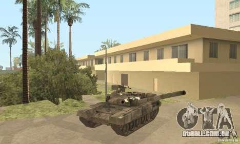 T-90A para vista lateral GTA San Andreas