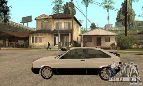 VW Gol GTS 1989 para GTA San Andreas esquerda vista