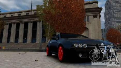 Alfa Romeo Brera Italia Independent 2009 v1.1 para GTA 4 vista direita