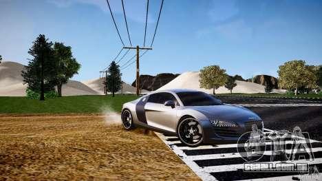 Audi R8 2008 para GTA 4 esquerda vista