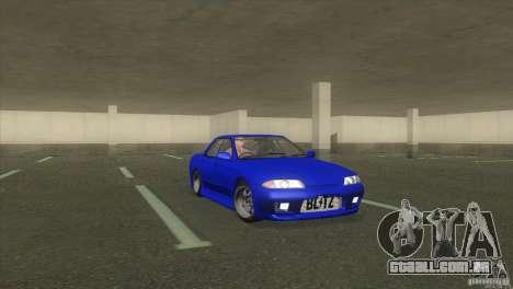Nissan Skyline R32 GTS-T para GTA San Andreas vista direita