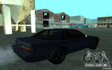 Nissan Onevia (Silvia) S13 para GTA San Andreas traseira esquerda vista