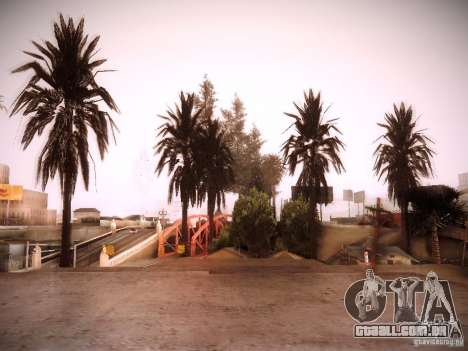 New trees HD para GTA San Andreas quinto tela