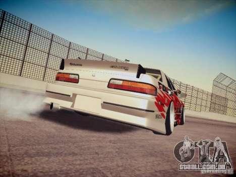Nissan Silvia S13 Daijiro Yoshihara para GTA San Andreas vista direita