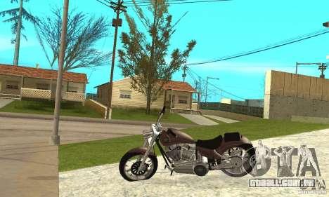 TLAD_Lucan para GTA San Andreas esquerda vista