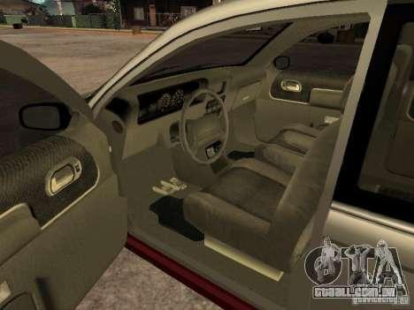 HD Blista para GTA San Andreas traseira esquerda vista