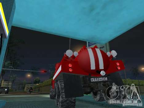 ZIL 131 AC-20 para GTA San Andreas esquerda vista