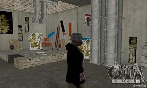 1 Hoodie para GTA San Andreas segunda tela