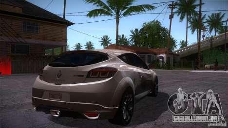 Renault Megane RS para GTA San Andreas vista direita