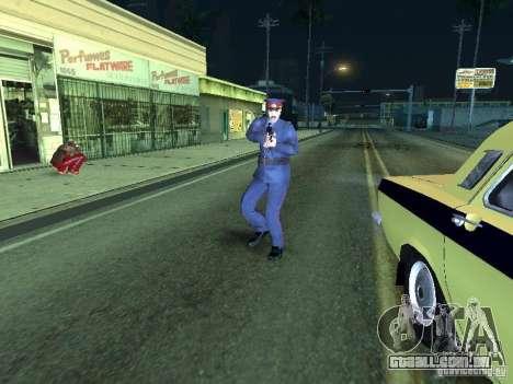 Polícia da URSS para GTA San Andreas por diante tela