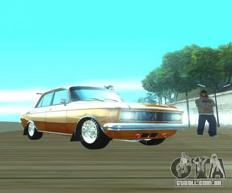 Dragster Moskvich 2140 para GTA San Andreas vista direita