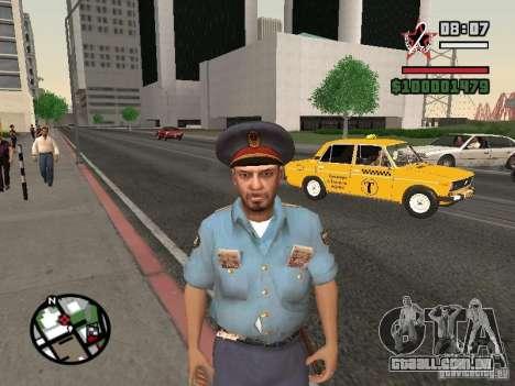 Policiais para GTA San Andreas terceira tela
