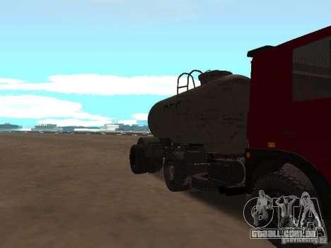 TTC 26 para GTA San Andreas vista interior