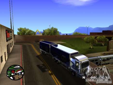 Iveco Stralis para GTA San Andreas esquerda vista