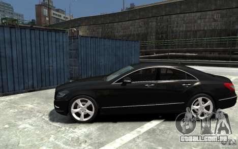 Mercedes-Benz CLS 350 para GTA 4 esquerda vista