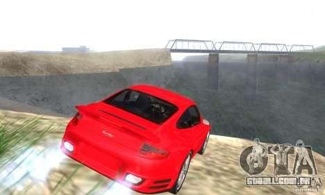 Color Correction para GTA San Andreas por diante tela