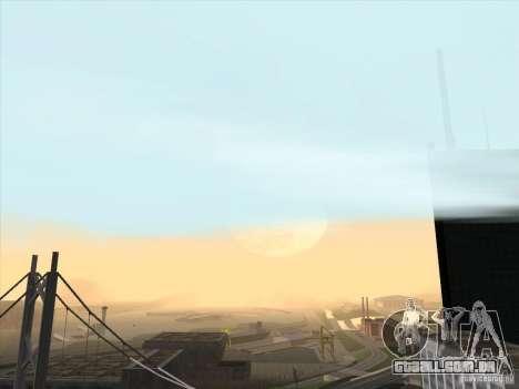 Um realista Timecyc para GTA San Andreas terceira tela