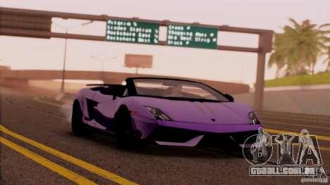 Extreme ENBseries v1.0 para GTA San Andreas segunda tela