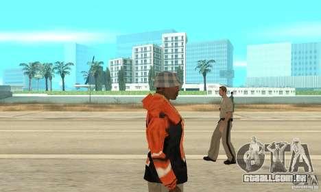 Hoodie 2 para GTA San Andreas segunda tela