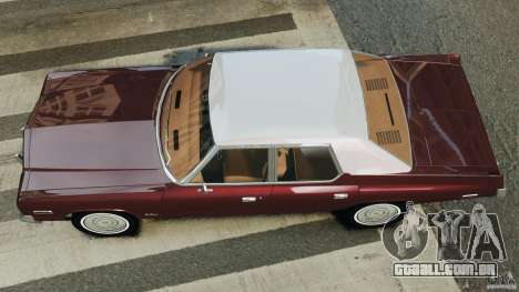 Dodge Monaco 1974 v1.0 para GTA 4 vista direita