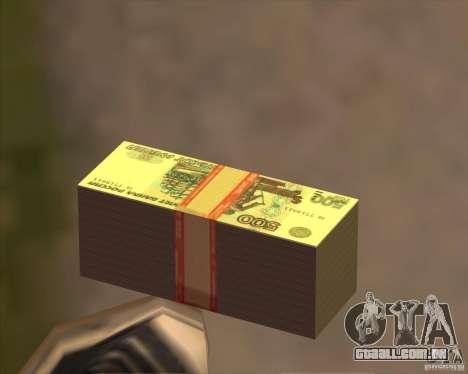 500 rublos para GTA San Andreas