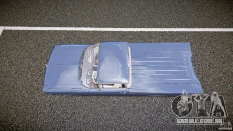 Chevrolet El Camino Custom 1959 para GTA 4 vista direita