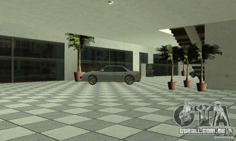 Mercedes Showroom v. 1.0 (Autocentre) para GTA San Andreas sexta tela