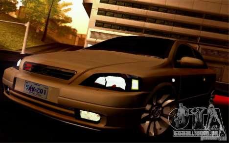 Opel Astra G 2.0 1.6V para GTA San Andreas vista traseira