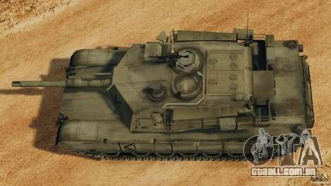 M1A2 Abrams para GTA 4 vista direita