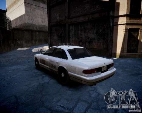 Russian NOOSE Cruiser para GTA 4 traseira esquerda vista