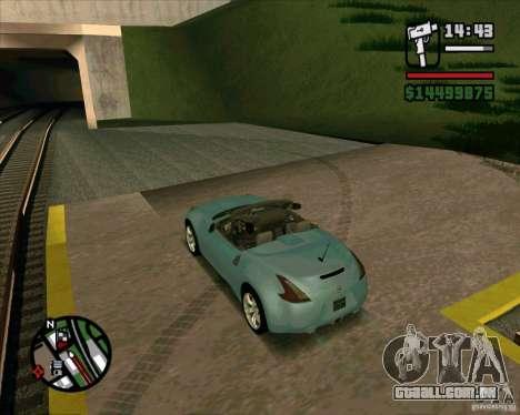 Nissan 370Z Roadster para GTA San Andreas esquerda vista