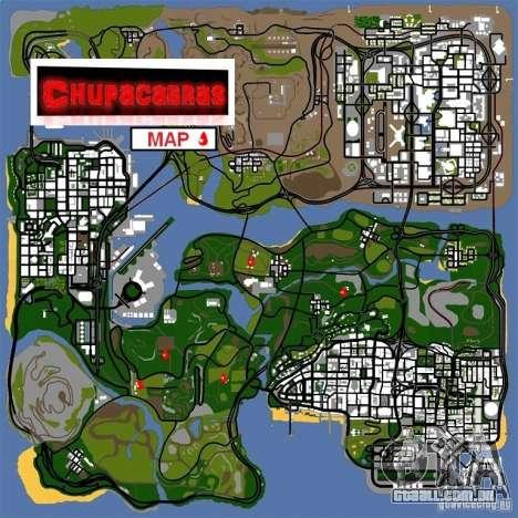 Chupacabra para GTA San Andreas terceira tela