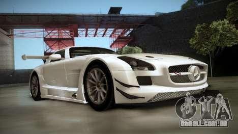 Mercedes-Benz SLS AMG GT3 para GTA San Andreas esquerda vista