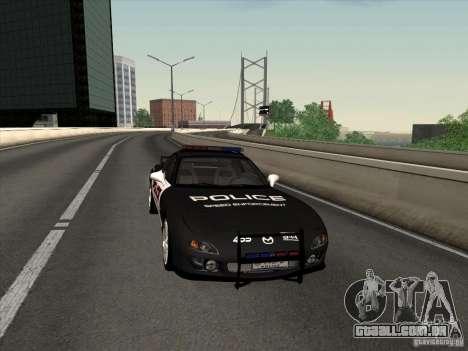 Mazda RX-7 FD3S Police para GTA San Andreas