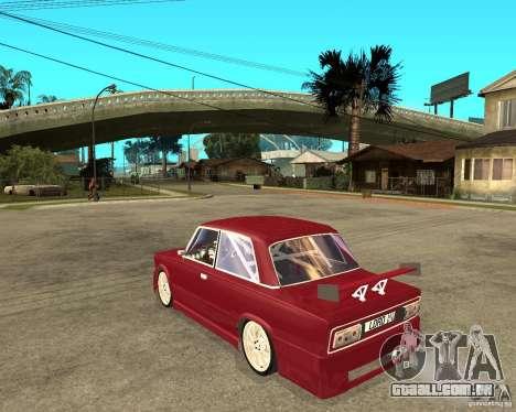 Senhor VAZ 2106 para GTA San Andreas esquerda vista