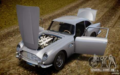 Aston Martin DB5 1964 para GTA 4 vista superior