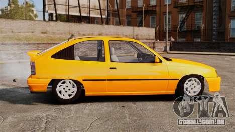 Opel Kadett GL 1.8 1996 para GTA 4 esquerda vista