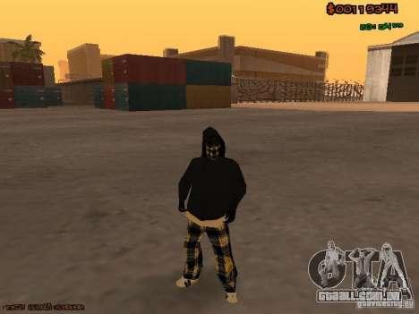 Vagos Skins para GTA San Andreas segunda tela