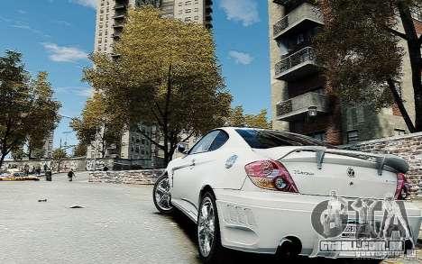 Hyundai Tuscani para GTA 4 esquerda vista