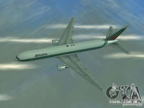 Boeing 767-300 Alitalia para GTA San Andreas